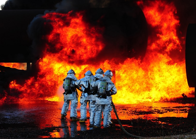 Firefighters, Most Stressful Job In The World