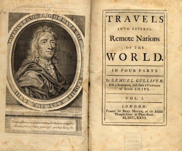 Gulliver's Travel Novel by Jonathan Swift To Improve Vocabulary