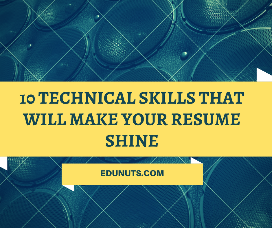 Must-Have Technical Skills That Will Make Your Resume Shine Not signed in