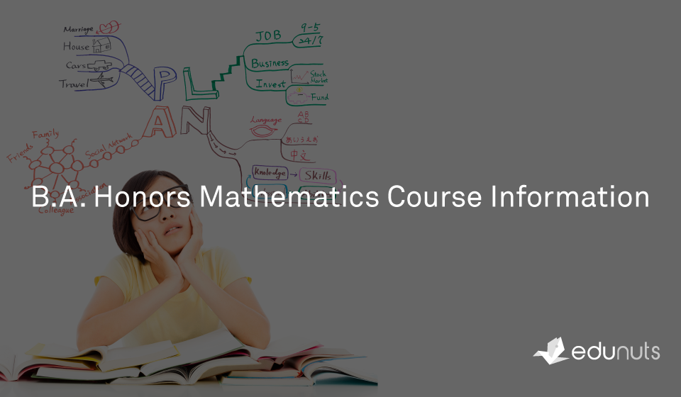 B.A. Honors Mathematics Course Information