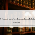 A Comprehensive List of Law Entrance Exams In India 2017
