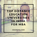 Top Universities for Distance Learning MBA In India