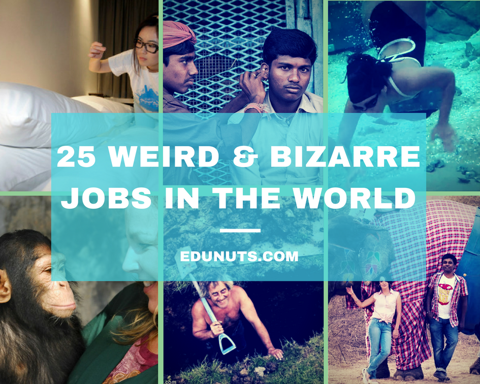really weird jobs