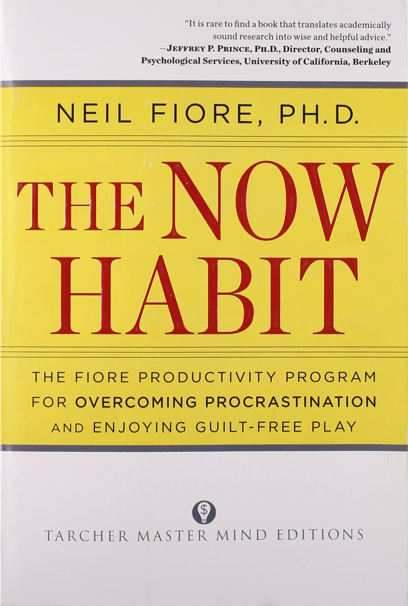 The Now Habit: Among the top self-improvement books.